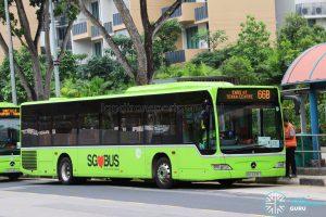 Tower Transit Mercedes Benz Citaro (SBS6336T) - Service 66B