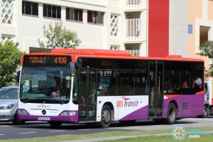 SBS Transit Mercedes-Benz O530 Citaro (SBS6625J) - Service 410G