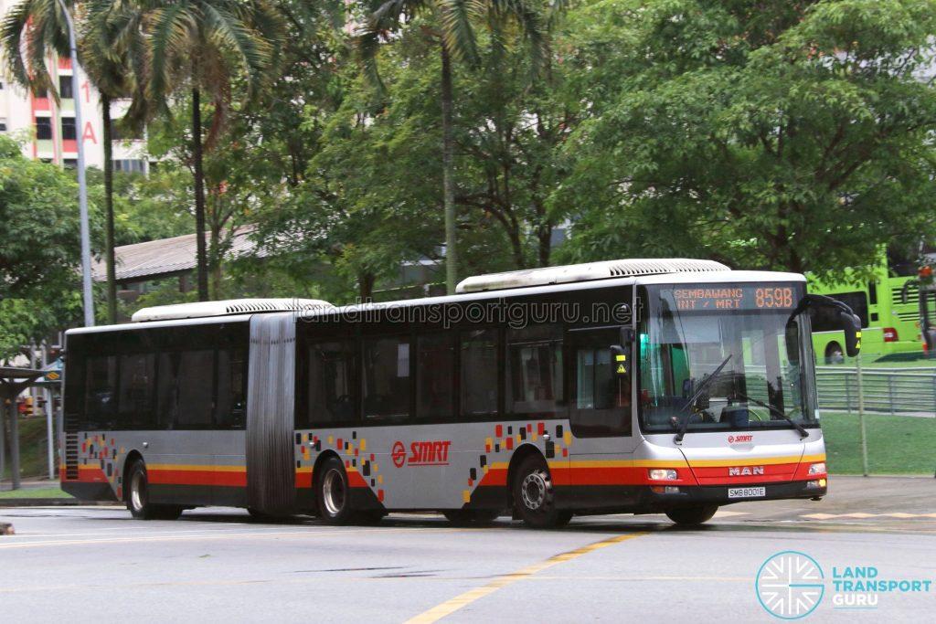 SMRT MAN NG363F A24 (SMB8001E) - Service 859B