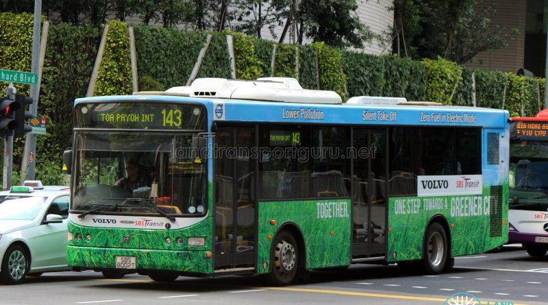 Volvo B5RLE Hybrid (SBS8002T) - Service 143