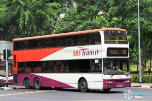 Service 163 - SBS Transit Dennis Trident (SBS9673A)