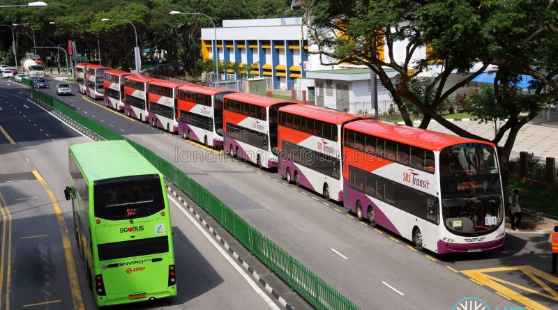 Shuttle 7 Buses at Aljunied