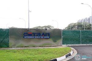 CETRAN Test Circuit - Main Entrance
