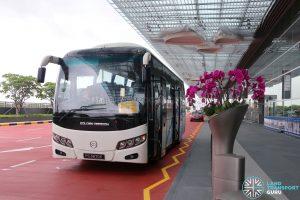 Changi Airport—Changi Business Park Shuttle at Terminal 4