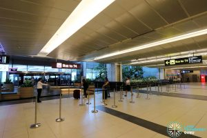 Changi Airport T4 Shuttle - T2 Boarding Point