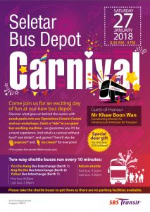 Seletar Bus Depot Carnival Poster