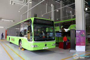 SBS Transit Mercedes Benz O530 Citaro (SG1217Z) - On Display at Seletar Bus Depot Carnival