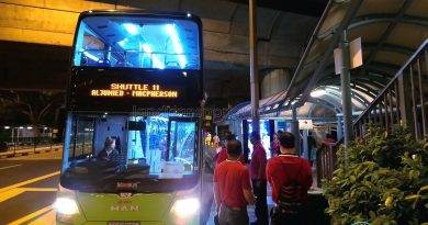 SMRT MAN A95 ND323F (SG5804C) - Shuttle 11