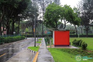 Taman Jurong Bus Terminal - View towards Yuan Ching Rd