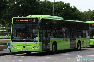 Gong Xi Fa Cai display on Bus 3