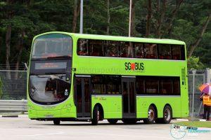 SBS Transit Volvo B9TL Wright (SG5507K) - Seletar Bus Depot Carnival Shuttle B