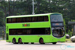 SBS Transit Volvo B9TL Wright (SG5523M) - Seletar Bus Depot Carnival Shuttle C