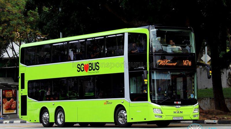 SBS Transit MAN A95 (SG5882B) - Service 147e