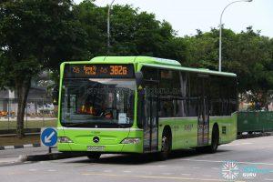 Gong Xi Fa Cai display on Bus 382G