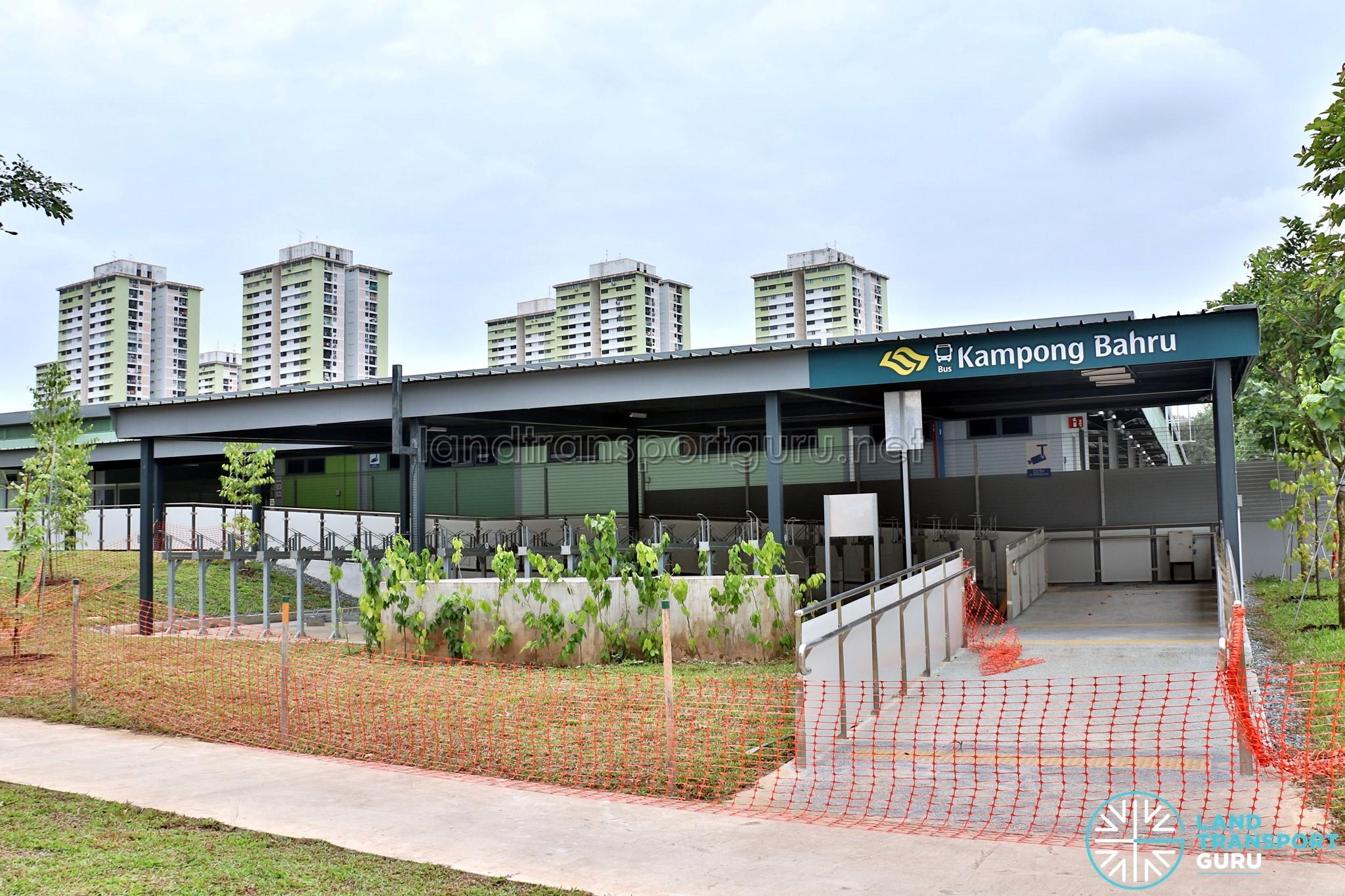 Kampong Bahru Bus Terminal Exterior (Feb 2018)