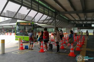 Enhancement of Punggol Bus Interchange - Temporary Berth B3
