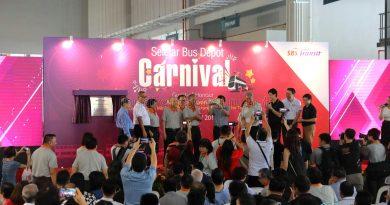 Launch of Seletar Bus Depot by Mr Khaw Boon Wan