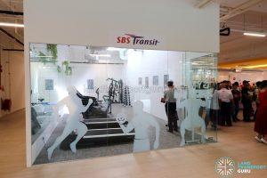SBS Transit Gym at the Seletar Bus Depot