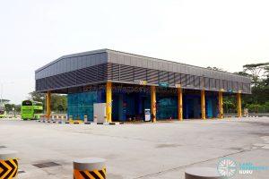 Seletar Bus Depot - Automated Bus Wash Lanes