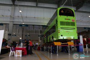 Seletar Bus Depot - Vehicle Lifting System