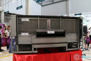 Denso Double-Decker Air-conditioning unit