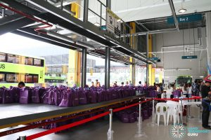 Seletar Bus Depot Carnival - Goody Bags