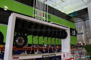 Seletar Bus Depot - Lubricant Dispensers