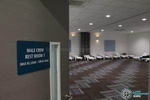 Seletar Bus Depot - Male Crew Rest Room 1