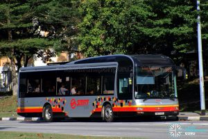 Service 965 - SMRT Buses MAN A22 (SMB1540L)