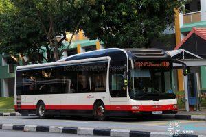 Service 800 - SBS Transit MAN A22 (SMB3052R)