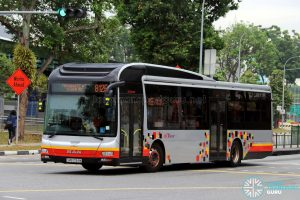Service 812E - SBS Transit MAN A22 (SMB3134M)