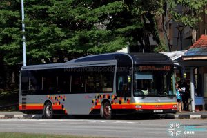 Service 800 - SBS Transit MAN A22 (SMB3143L)