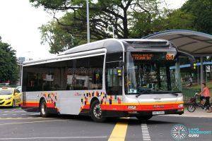 Service 860 - SBS Transit MAN NL323F (SMB3149X)