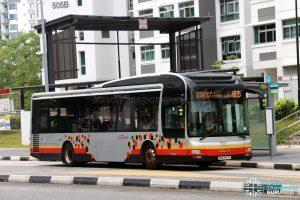 Service 805 - SBS Transit MAN A22 (SMB3157Y)