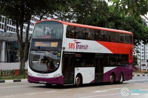 Service 807 - SBS Transit Volvo B9TL Wright (SG5088C)