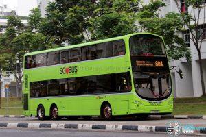 Service 804 - SBS Transit Volvo B9TL Wright (SG5148M)