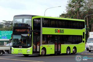 SBS Transit MAN A95 (SG5896L) - Service 7B