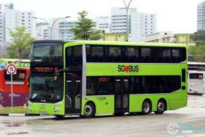 Service 12 - Go-Ahead Singapore MAN A95 (SG5910D)