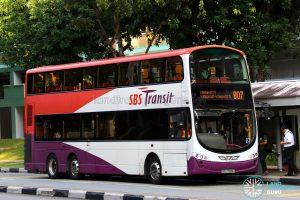 Service 807 - SBS Transit Volvo B9TL Wright (SBS7589Z)