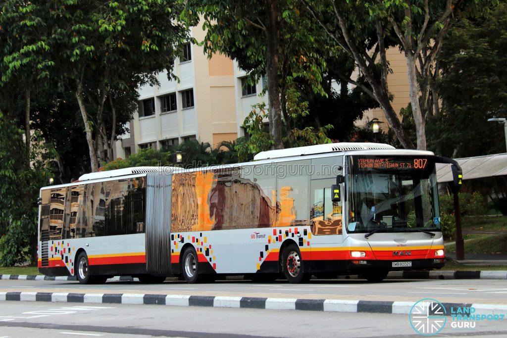 Service 807 - SBS Transit MAN A24 (SMB8002C)