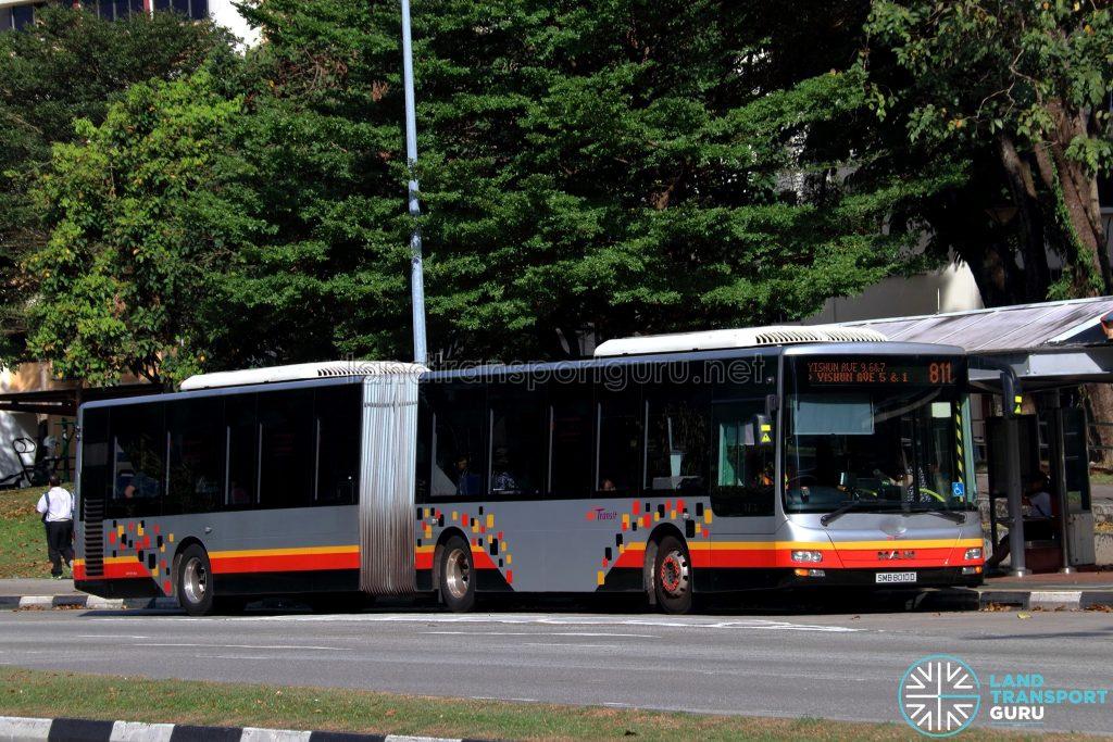 Service 811 - SBS Transit MAN A24 (SMB8010D)