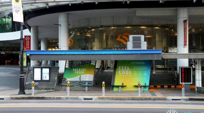 Airbitat Oasis Smart Bus Stop - Exterior