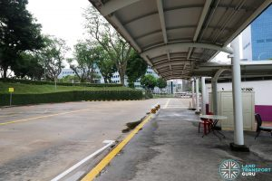 New Bridge Road Bus Terminal - Bus Parking Area near NTWU Canteen