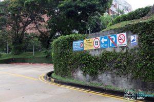 New Bridge Road Bus Terminal - Traffic & Advisory Signs