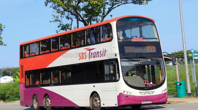 Service 253 - SBS Transit Volvo B9TL Wright (SBS3275E)