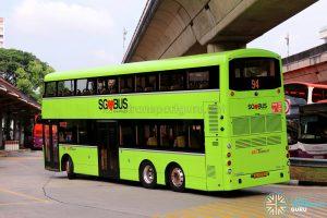 SBS Transit Volvo B8L (SG4003D) - Service 94 - Rear