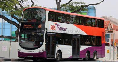 Service 48: SBS Transit Volvo B9TL Wright (SG5392Z)