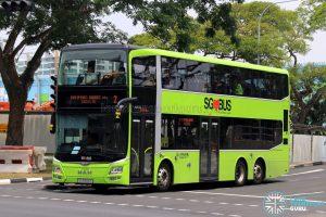 Service 2: Go-Ahead MAN A95 (SG5906S)