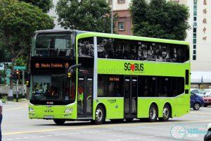 Route Training - Go-Ahead Singapore MAN A95 (SG5920A)