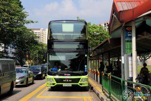 MAN Lion's City DD L Concept Bus (SG5999Z) -Front